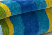 multi colour towel