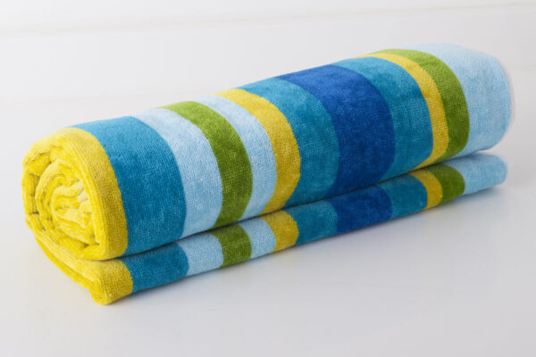 multi coloured towel