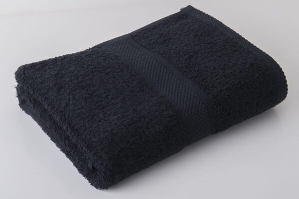 black towel
