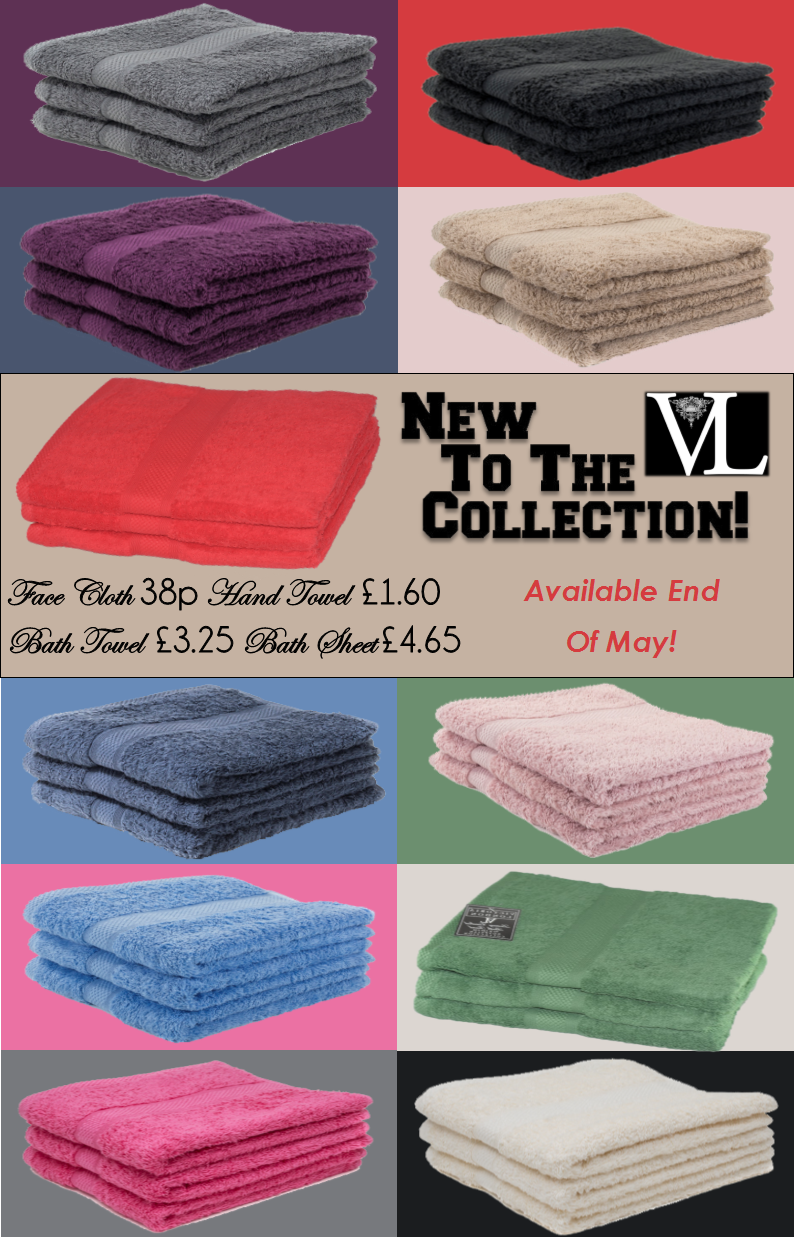 New towel collection at Victoria London