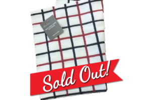 Soft Check Tea Towel