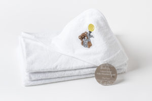 Baby Hooded Towel Baby Embroidered