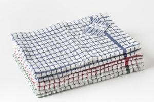 Luxury Terry Check Tea Towels All Colours