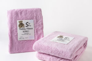 Teddy Fleece Duvet Set and Blanket